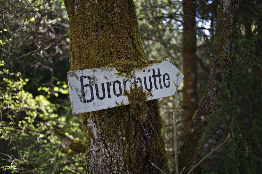 Buronhutte Wandern Im Oberallgau